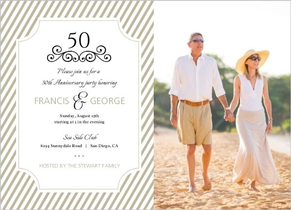 Cheap 50th Wedding Anniversary Invitations: 17 Best Images About Cheap 50th Anniversary Party Ideas On