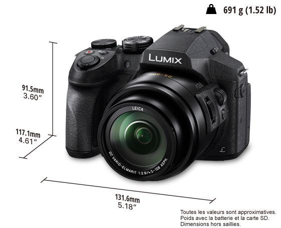 Appareil photo numérique LUMIX DMC-FZ300