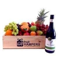 Peter Yealands Pinot Noir Fruit Hamper  Fruit Hampers for all Occasions - say it with fruit! *BIRTHDAY* *THANK YOU* *CONGRATULATIONS* *HOUSE WARMING* *FOR HIM* *FOR HER* *NEW BABY* *GRADUATION* *MOTHERS DAY* *I LOVE YOU* #fruithampers #gifthampers #australiangifts #corporategifts