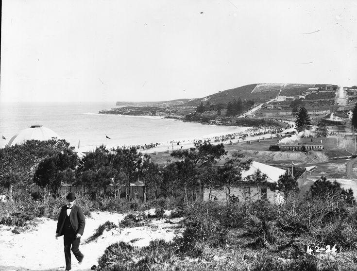 Coogee Beach', unattributed studio, Sydney, Australia, c. 1880-1923