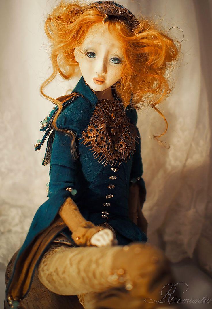 OOAK Doll, One of a Kind Vintage Doll - Alkioni