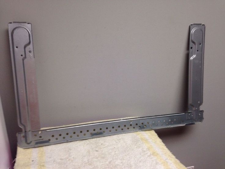 ge general electric microwave oven mounting bracket wb56x10862 - General Electric Microwave