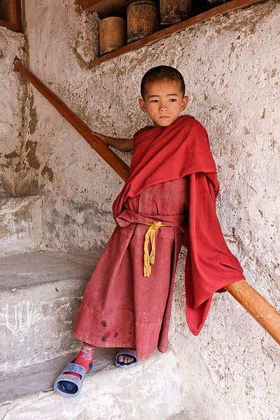 Young Student Monk
