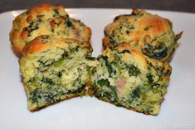 Muffin salsiccia e friarielli, scopri la ricetta: http://www.misya.info/2013/10/23/muffin-salsiccia-e-friarielli.htm