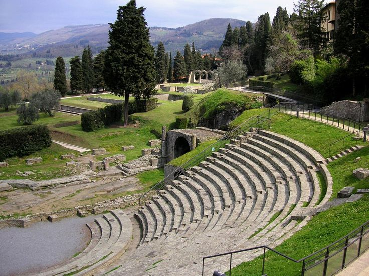 Florence Fiesole Archaeological site  http://www.charminly.com/unmissable-tuscan-hamlets/