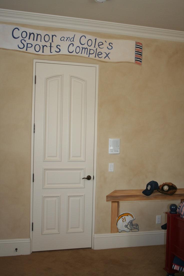 Atlanta Braves Bedroom Decor: 100 Best Images About BASEBALL BEDROOMS On Pinterest