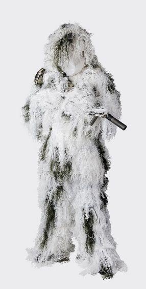 Helikon Ghillie Suit Snow Camo 4 piece set