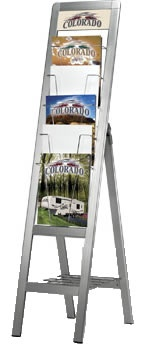 Olympic Multi Brochure Stand - Literature Display