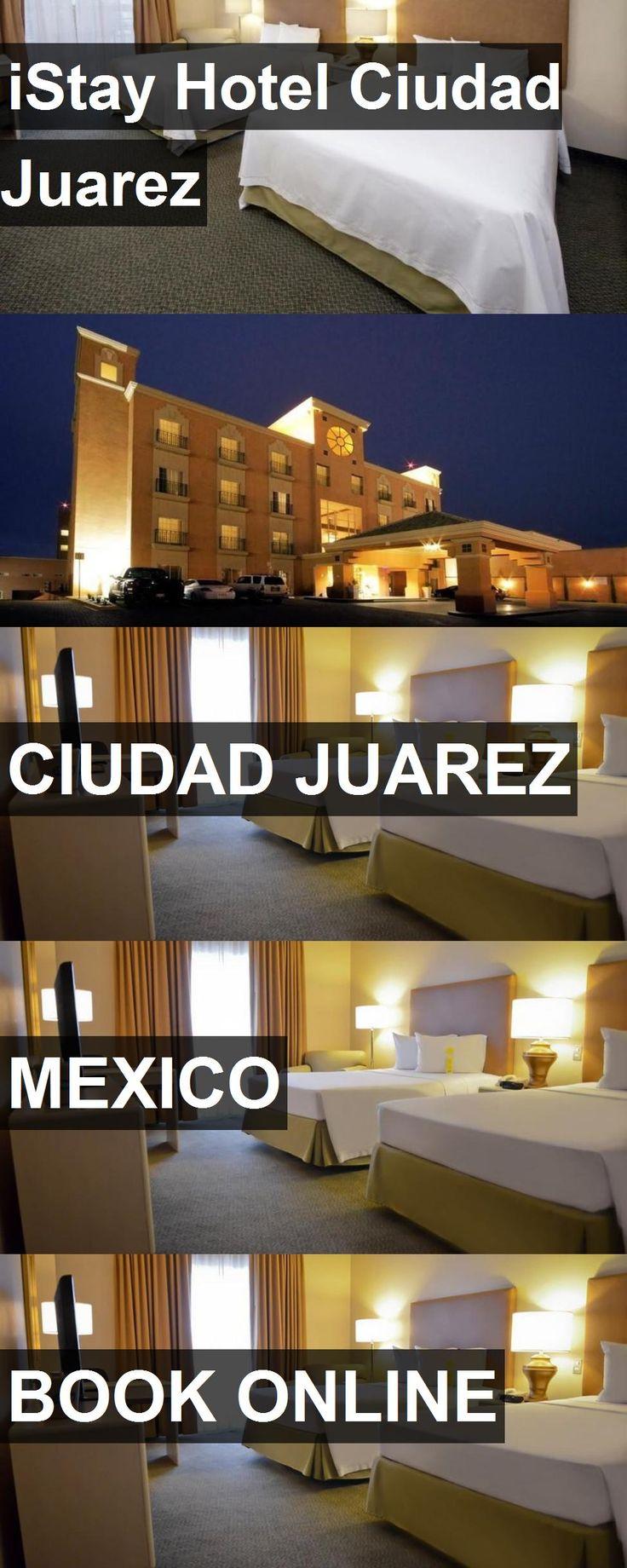 iStay Hotel Ciudad Juarez in Ciudad Juarez, Mexico. For more information, photos, reviews and best prices please follow the link. #Mexico #CiudadJuarez #travel #vacation #hotel