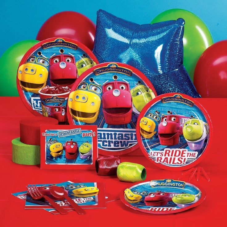 Chuggington Birthday Party Supplies