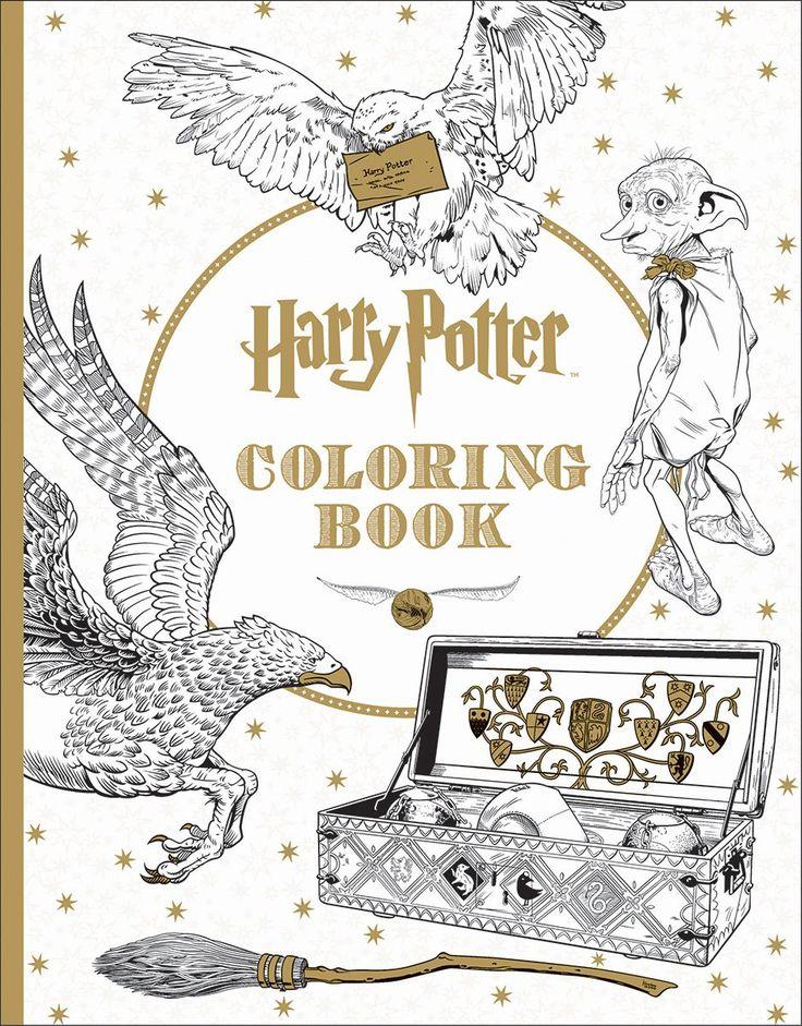 Harry Potter Coloring Book: Scholastic: 9781338029994: Amazon.com: Books