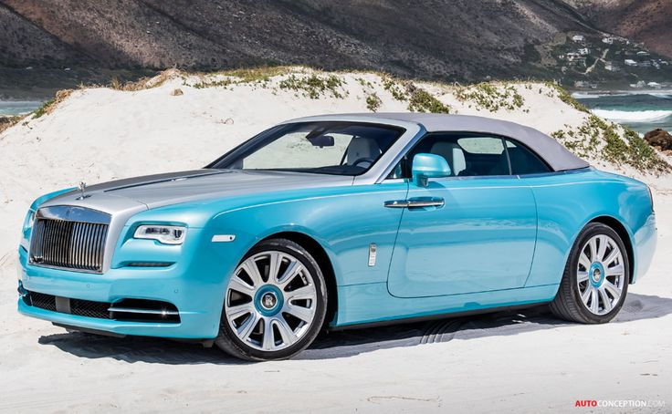 2016 Rolls-Royce Dawn. This car is too big to paint in wishy-washy baby sky blue