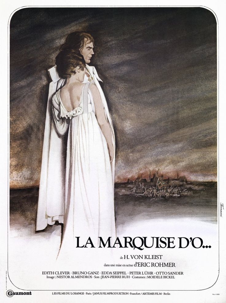 The Marquise von O (1976) poster
