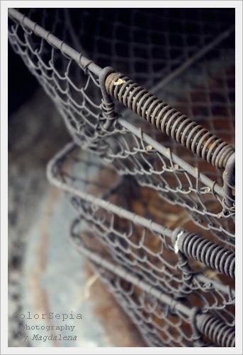 Rusty Baskets