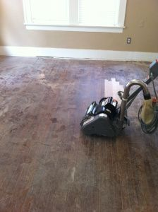 This customer rented a floor sander from her local Home Depot to start her floor refinishing project. She also gives some great advice and tips she picked up along the way.