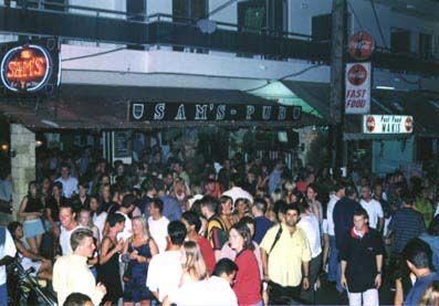 Fallaraki 1997, temporary home of Big Beat and my future wife