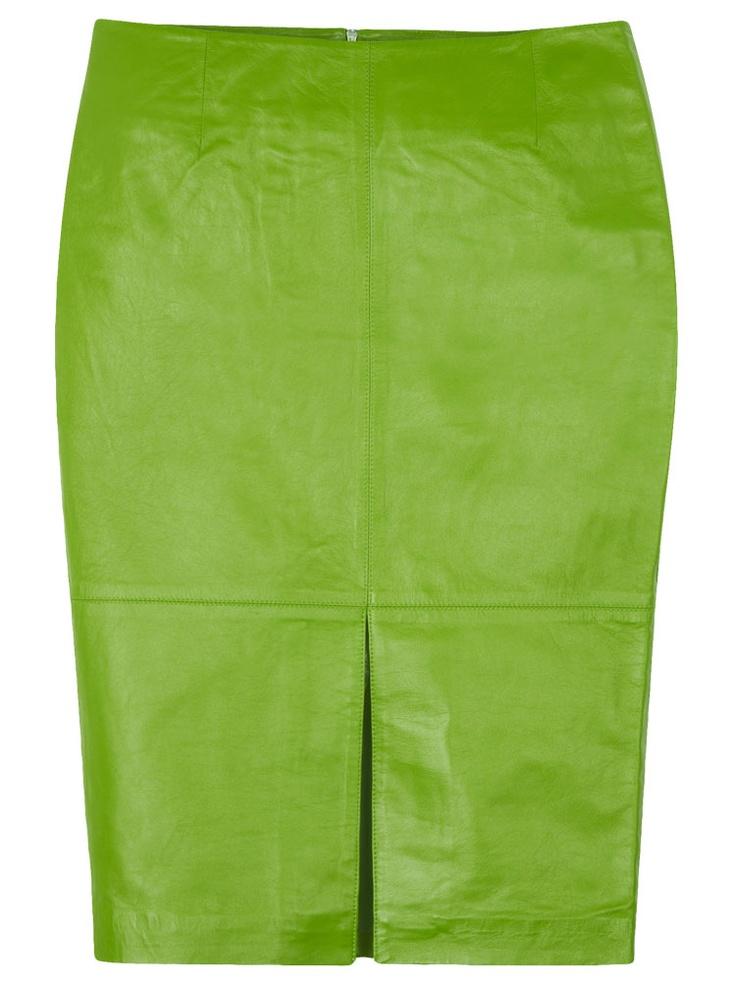 Vallance Pencil Skirt in Green