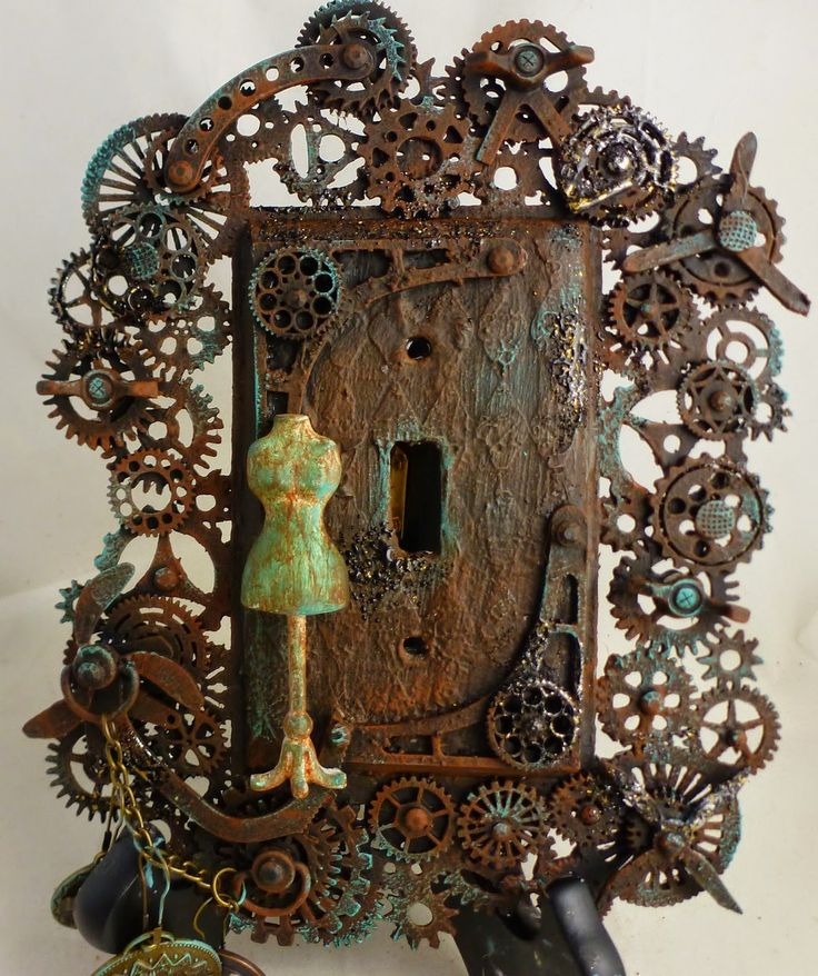 72 best steampunk images on pinterest craft victorian for Steampunk arts and crafts