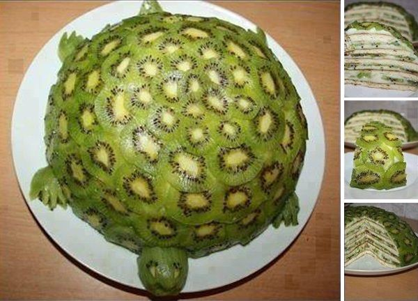 Kiwi Turtle Cake Recipe