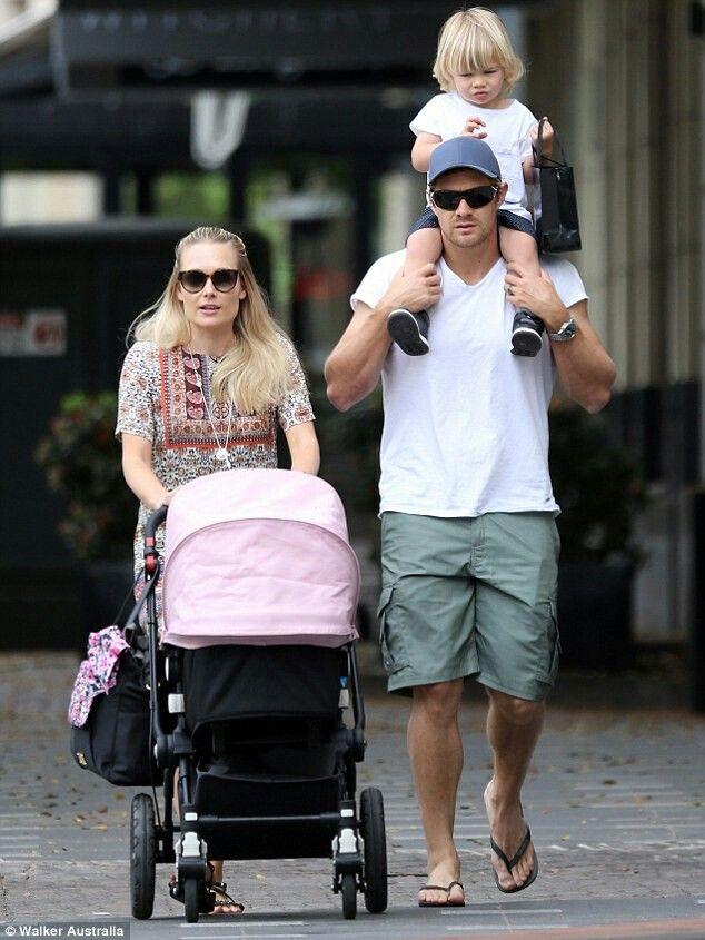 Shane watson & his family