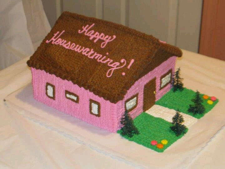 Cake Designs For Housewarming : Housewarming cake Cakes Pinterest Housewarming cake ...
