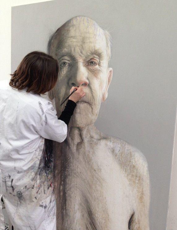 Annemarie Busschers at work. Photo: Rolf ter Sluis