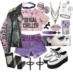 ♥ Pastel goth summer time ♥