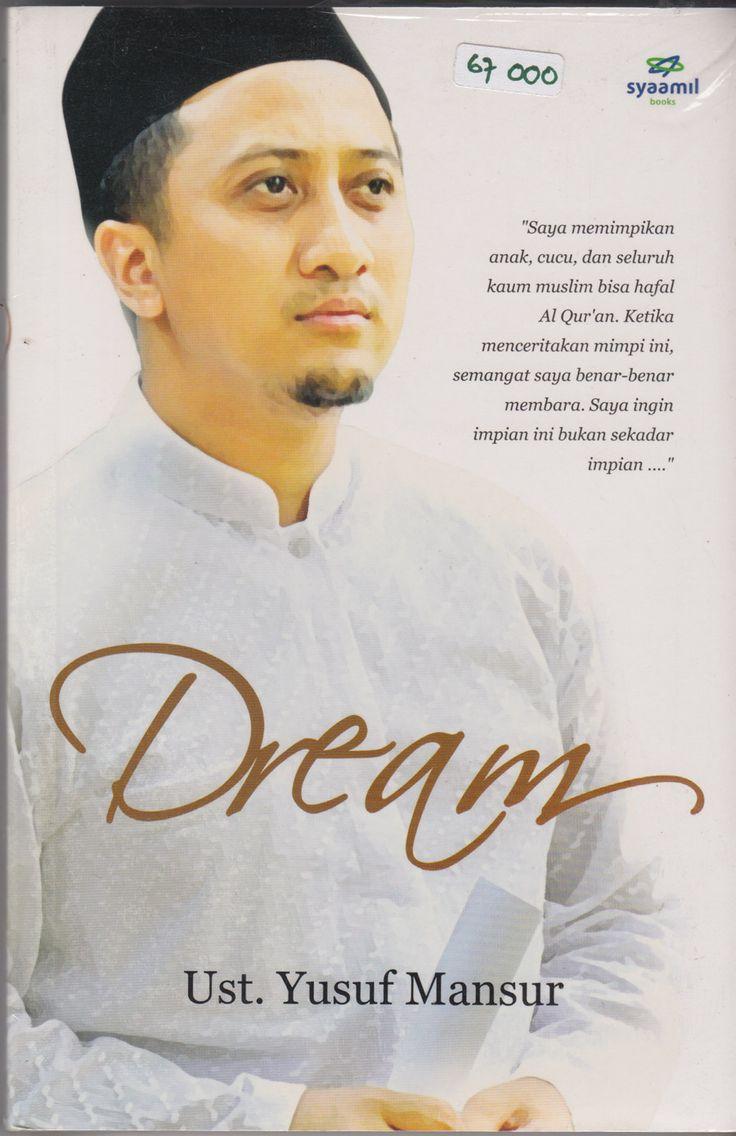 """""""Saya memimpikan anak, cucu, dan seluruh kaum muslim bisa hafal Al Qur'an. Ketika menceritakan mimpi ini, semangat saya bener bener membara. Saya ingin impian ini bukan sekedar impian... """" Trilogi FEEL-RICH-DREAM Rp. 67.000 (disc 10% untuk trilogi )"""