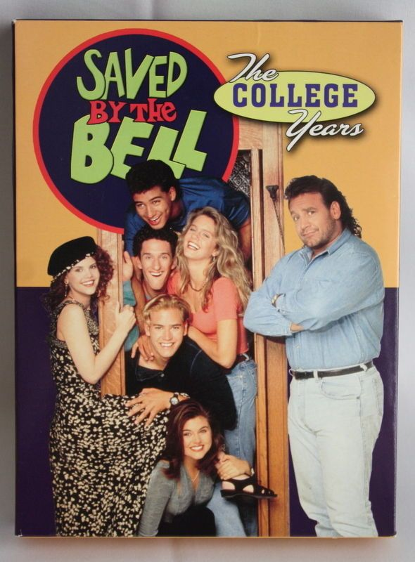 Saved By the Bell The College Years: Season 1 DVD 2004 3-Disc Set