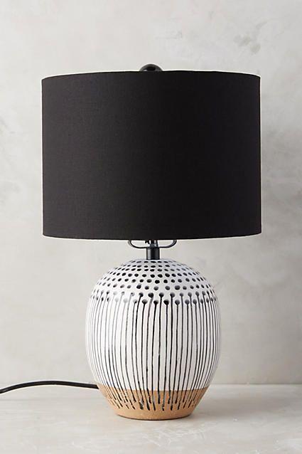 Black And White Lamp