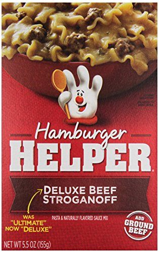 Betty Crocker Hamburger Helper Classic Ultimate Beef Stroganoff Dinner 55 Ounce ** Be sure to check out this awesome product. (Note:Amazon affiliate link)