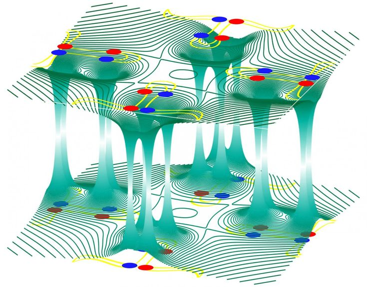 Researchers at Princeton University have observed a bizarre behavior in a strange new crystal that could hold the key for future electronic technologies. Unlike most materials in which electrons travel on the surface, in these new materials the electrons sink into the depths of the crystal through special conductive channels.