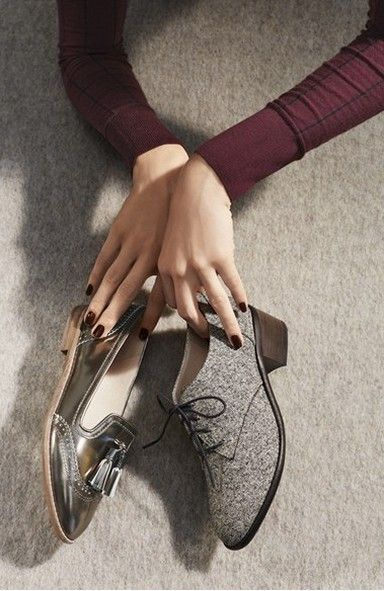 The Menswear Flat makes a great Fall staple item. @Nordstrom