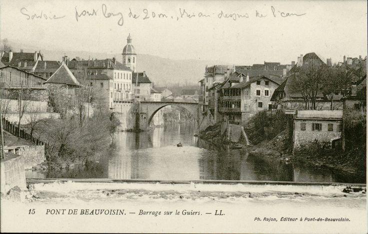 Pont De Beauvoisin Tous Droits D Exploitation Reserve Archives