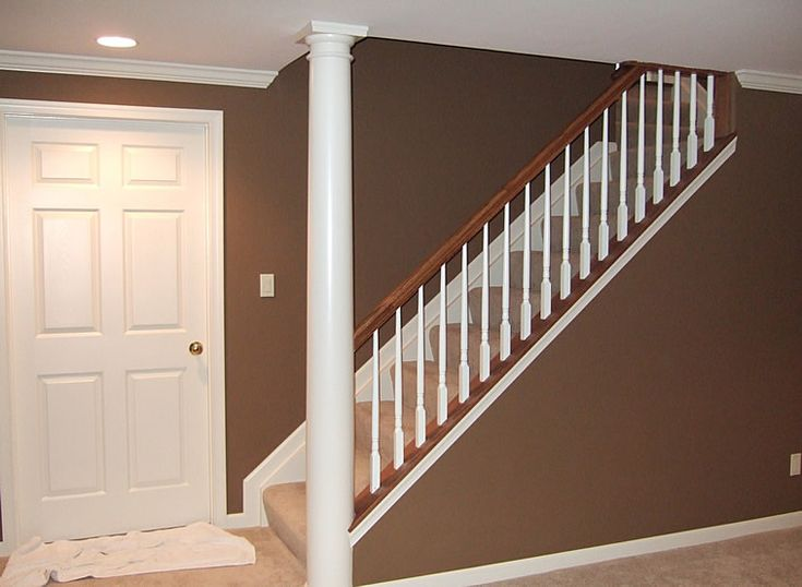 Best Basement Ideas Open Stairs No Wall Wall Colors 400 x 300
