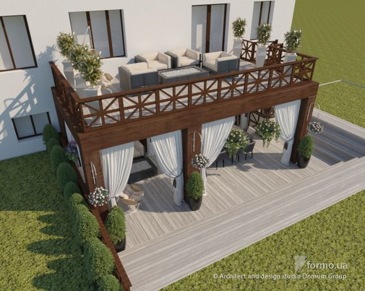 Дизайн веранды жилого дома, Architect and design studio Domum Group, Лоджия/Балкон, Дизайн интерьеров Formo.ua