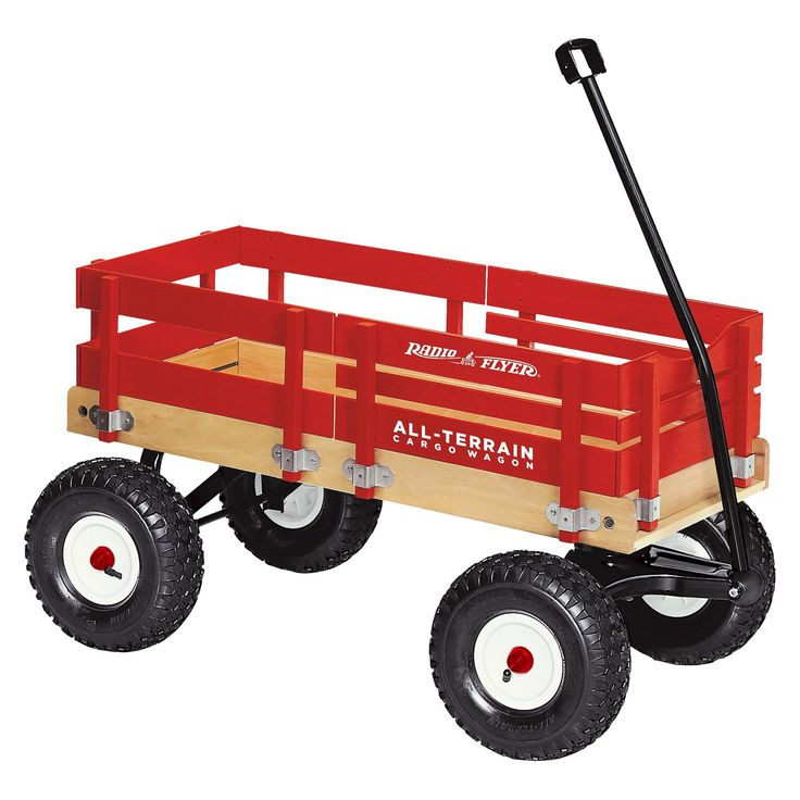 Radio Flyer All-Terrain Cargo Wagon - Red