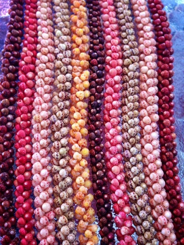 Ni'ihau shell strands. Beautiful.