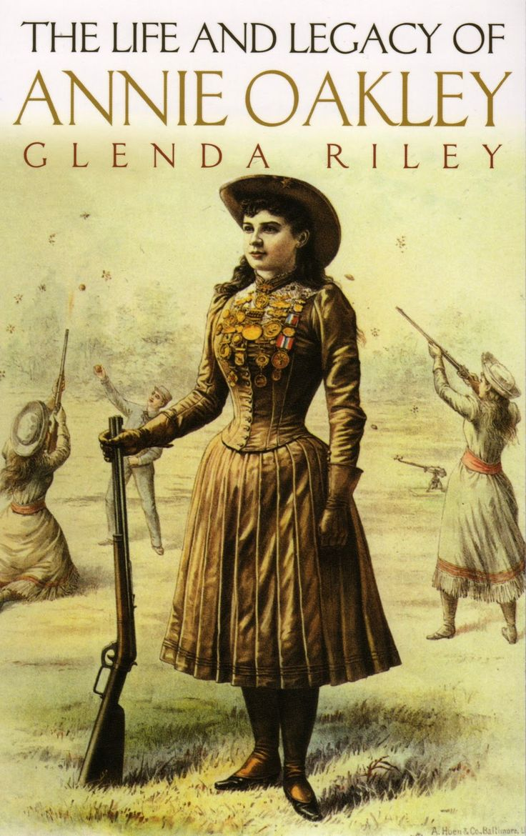 """Legacy And Death Of Moses: Annie Oakley Was Born """"Phoebe Ann Moses."""" Her Father Died"""
