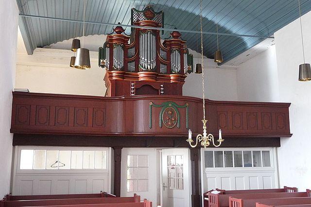 Bangstede, Ev.-luth. Kirche, Rohlfs-Orgel