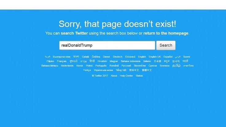FOX NEWS: Twitter security slammed after rogue employee deactivates Trump's account