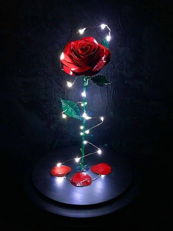Pin By Uℓviyya S 2 On Disney Pixar Enchanted Rose Beauty And The Beast Rose Wallpaper