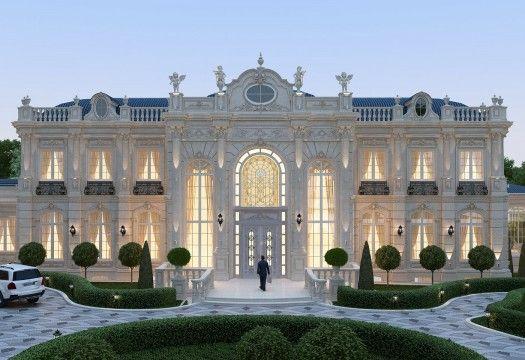 Elegant Exterior Design in UAE (With images)   Classic ...