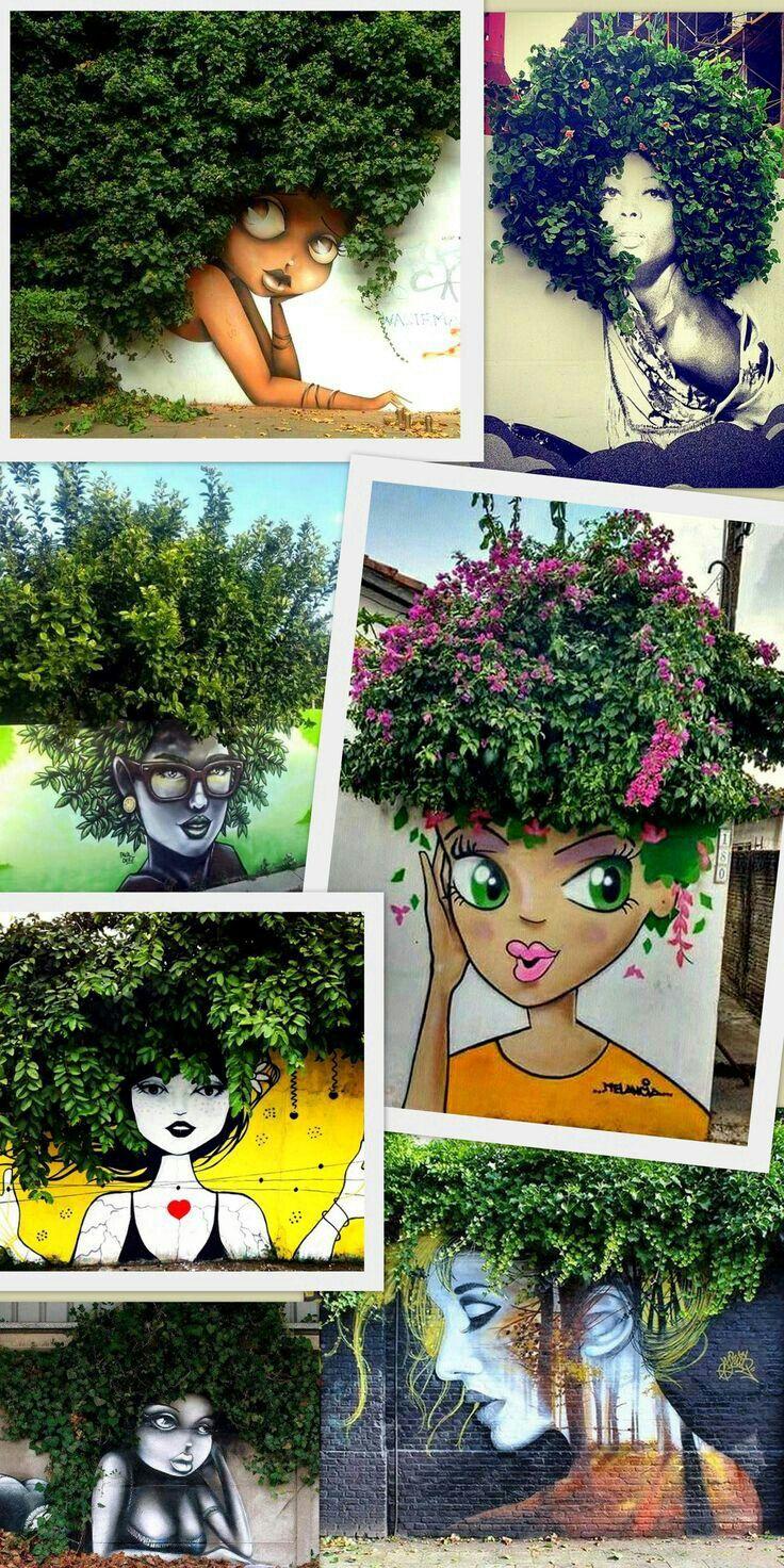 waooooo k photo pinterest pochoir street art street art et salon coiffure. Black Bedroom Furniture Sets. Home Design Ideas