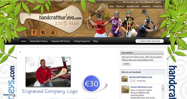 Handcraft Hurleys Website