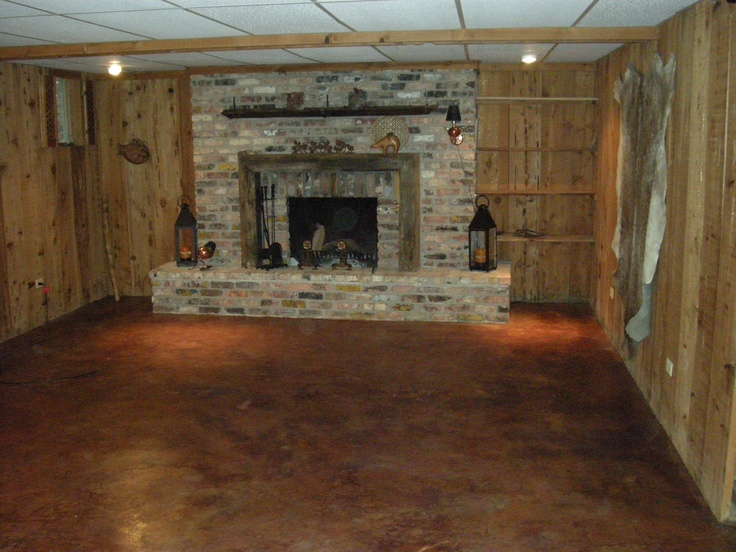 19 best stain my floor images on pinterest cement floors for How to remove wax from stained concrete floors