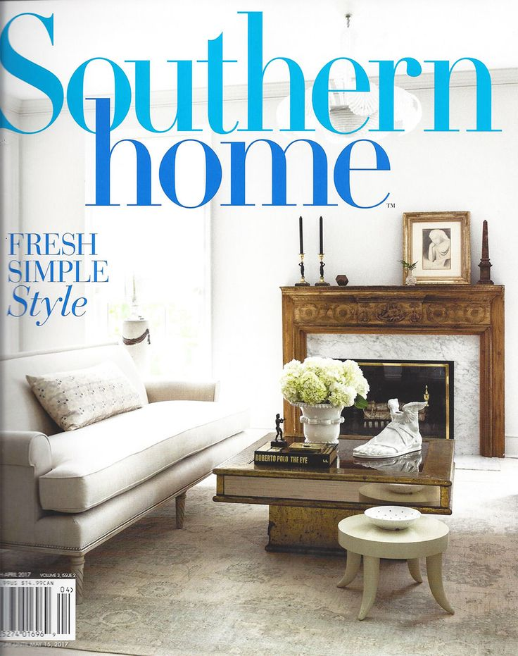 Bayview Beauty featured in Southern Home March/April 2017 issue