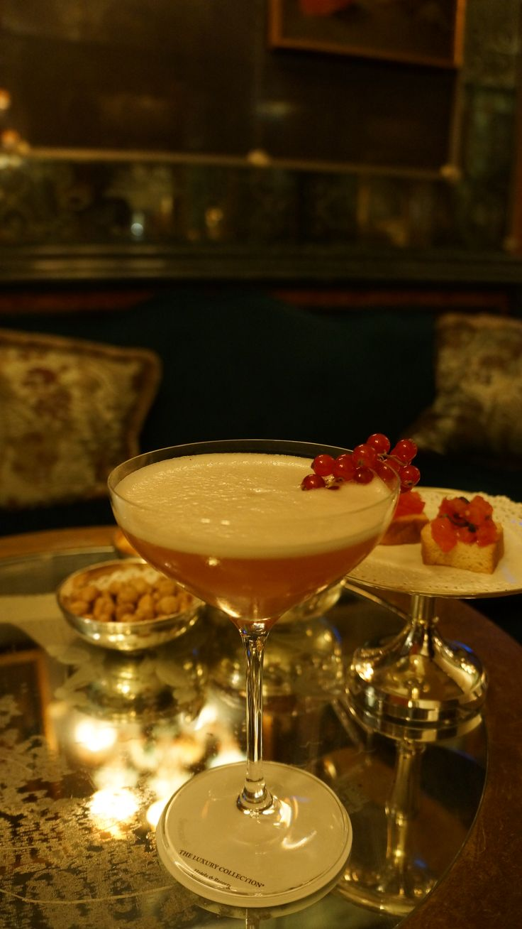 Dogaressa cocktail at Bar Longhi,Venice
