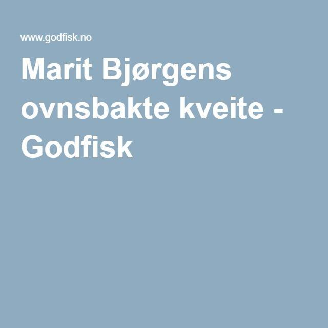 Marit Bjørgens ovnsbakte kveite - Godfisk