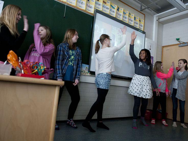 """Finland tänker slopa """"ämnen"""" i skolan och istället fokusera på """"topics"""". Intressant!"""